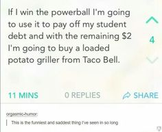 This very real lottery dream: | Try Not To Feel Bad For Laughing At These 21 Photos