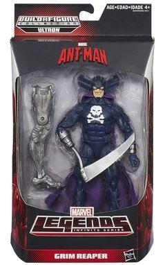 Marvel Legends Ant-Man Action Figures Wave 1 Case BAF Ultron | eBay