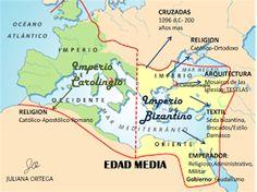 JULIANA ORTEGA: MAPA MENTAL: Imperio Bizantino