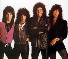 Kiss took off the makeup in the 80's and they became just another band.