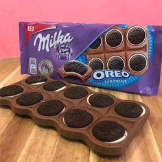 Oreo Truffle Recipe - Useful Articles Oreo Truffles Recipe, Oreo Desserts, Cadbury Chocolate, Ice Cream Candy, Chocolate Lovers, Sweet Treats, Food Porn, Sweets, Snacks