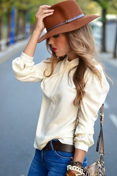 Street Outfit with Hat