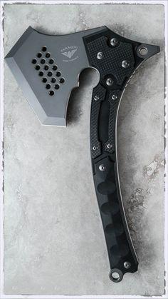 Asheville Steel Paragon War Party Tactical Tomahawk Axe #axe