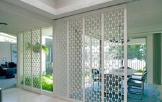 Rolling MCM screens modernhomeslosangeles: Brentwood Untouched 1960 Mid-Century Modern Comes Loaded With Charm