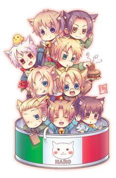 Hetalia Italie