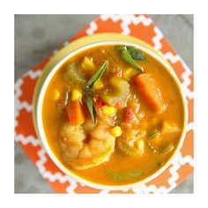 Curry Shrimp Soup  ———————————– : @heatherchristo that looks so delish#soup#seafood#foodie Would you serve this soup as a second option to a salad course? #course#yummy#partyblogger #ideas...