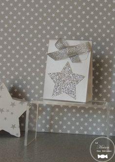 Boîte à dragées étoile/star wedding box de la boutique LaMaisonDesDelices sur Etsy