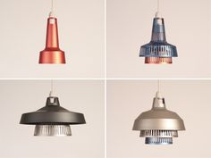 In the Details: The Stacking Aluminum Shades of International's Apollo Lighting System