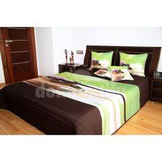 Feng Shui hnedo zelený prehoz na posteľ Feng Shui, Bed, Furniture, Home Decor, Homemade Home Decor, Stream Bed, Home Furnishings, Beds, Decoration Home