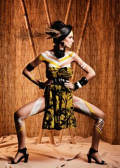 The tribal injection on Fashion Served