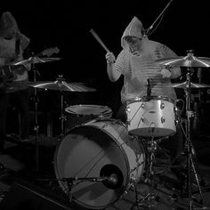 psyched to be spending halloween with @telekinesis in #kcmo!  amazing songs & sounds & beats. #concerttomrevival #candcdrums