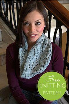 Split Leaf Cowl Free Knitting Pattern                                                                                                                                                                                 More