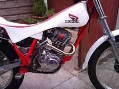 The Honda Trials History: 1982 Honda TLR250 and TLR200
