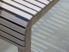 MARKET Bench by Noe DUCHAUFOUR-LAWRENCE for PETITE FRITURE