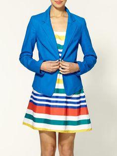 Stripes and a blazer