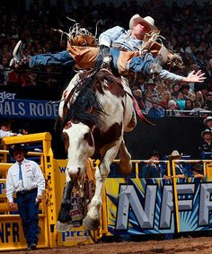 Oklahoma is #cowboy country. #Rodeos are a big attraction throughout the state.