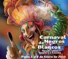 Carnaval de Blancos y negros, It is the festival of white and black people, to express the friendship between the two razes and welcoming the harvest season.