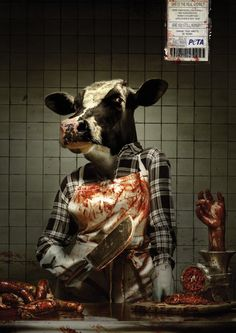 PETA focuses primarily on the areas in which the greatest numbers of animals suffer the most like In Leather Industry, Laboratories. Peta Campaign is for the Socia cause to Open the Eye Creative Advertising, Print Advertising, Print Ads, Peta, Archer, Troy, Dachshund, Mercy For Animals, Popular Ads