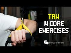 14 TRX Core Exercises - YouTube