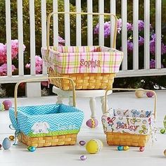 Personalized Easter Baskets | Easter Gifts For Adults
