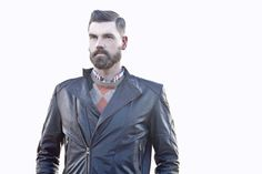 #Pringle  Winter 2013 #beard #BrrRogers I Love Beards, Suit Jacket, Leather Jacket, Suits, My Love, Winter, Jackets, Fashion, Studded Leather Jacket