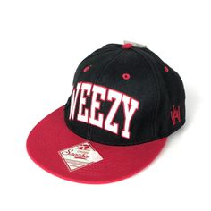 5eb4701b64a Lil Wayne Weezy Baseball Cap Hat Black Red Adjustable Rapper Young Money  Tags  YoungMoneyMerchandisingInc