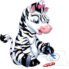 Funny Cartoon Zebra Clip Art http://zebra-pictures.clipartonline.net/
