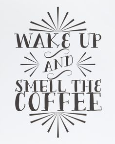 This coffee-centric, hand-lettered art is ideal for framing and adding an eye-catching vintage element to the home. This coffee-centric, hand-lettered art is ideal for framing and adding an eye-catching vintage element to the home. I Love Coffee, Coffee Break, My Coffee, Coffee Shop, Coffee Theme, Coffee Bars, Coffee Menu, Fresh Coffee, Starbucks Coffee