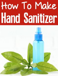How to Make Hand Sterilizer at Home! DIY hand sanitizer spray with alcohol is such a good thing to have on hand! House Cleaning Tips, Spring Cleaning, Cleaning Hacks, Hacks Diy, Diy Cleaners, Cleaners Homemade, Homemade Toys, Household Cleaners, Diy Sanitisers