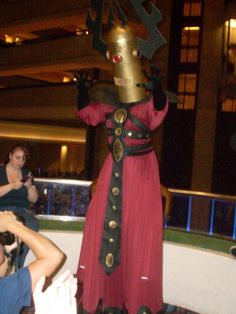 IGNORE ME! Cosplay of Grand Galactic Inquisitor from Venture Bros. YES!