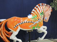 salem oregon carousel horse