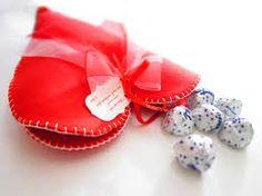 cuore feltro san valentino -
