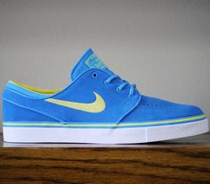 Nike SB Stefan Janoski Low – Photo Blue / Sonic Yellow