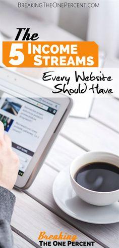 Monetizing Your Blog | Make Money Blogging | Blogging Tips | Blogging for Beginners | Affiliate Marketing | Income Streams