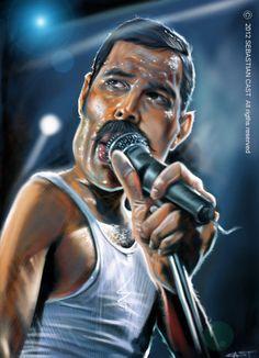 Fredy Mercury @Sebastian Ibarra Ibarra Cast