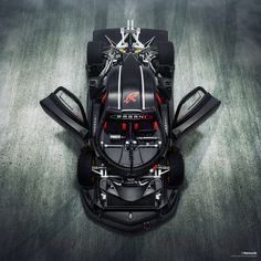 Zonda R uncovered + FX, via Flickr.
