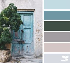 { a door color } image via: @arasacud  #color #palette #colorpalette #pallet #colour #colourpalette #design #seeds #designseeds