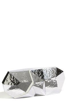 Rafe New York Maryanne Minaudiere in Silver (steel)