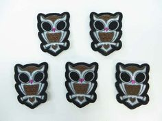cute owl embroidered iron on patch embroidered cloth badge motif applique sew on applique patch $1.5 - http://www.wholesalesarong.com/blog/cute-owl-embroidered-iron-on-patch-embroidered-cloth-badge-motif-applique-sew-on-applique-patch-1-5/