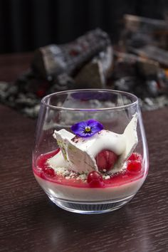 Delicious Berry Dessert at a21 Dining, Helsinki, Finland. http://www.kontikifinland.com/holidays/destination/1194732/helsinki-archipelago/helsinki-archipelago-tour-cruise-and-fine-dining-dinner-island-to-table-experience A21.fi