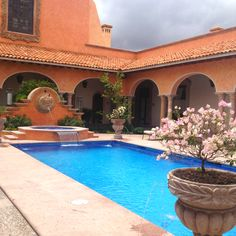 Hacienda in San Miguel de Allende, México. ( Hacienda San José LaVista)