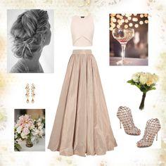 Diferent wedding by irialore on Polyvore featuring polyvore fashion style Jenny Packham Sergio Rossi Ben-Amun OKA