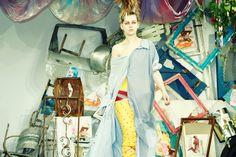 London Fashion Week: Meadham Kirchhoff Spring/Summer 2015