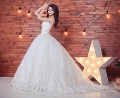 Ball gown wedding dress Venecia wedding dress by myHoneymoonDress