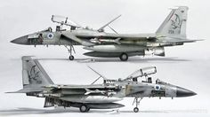"""Boeing F-15Ds """"Improved Baz"""" Israeli Air Force - G.W.H. kit, 1:48 scale model"""