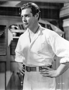 "Clark Gable, ""Mutiny on the Bounty""."