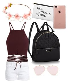 """Coachella"" by bethany-franco on Polyvore featuring Frame, Belkin and coachella"