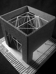 Model 1 by James Milicevic, via Archinect
