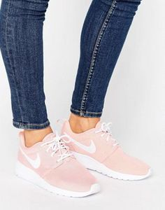 new style ee824 d2c3c Nike Roshe One Trainers In Pink