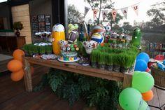 Festa tema Esportes   Macetes de Mãe Party Ideas, Ideas Party, Hs Sports, Kids Part, Embellishments, Fete Ideas